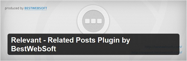 Relevant - Related Posts plugin for WordPress posts