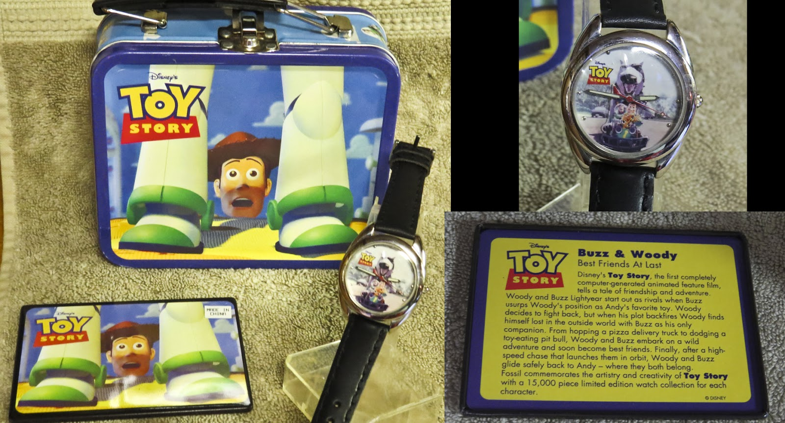 Dach Toy Story : Kates disney closet more watches