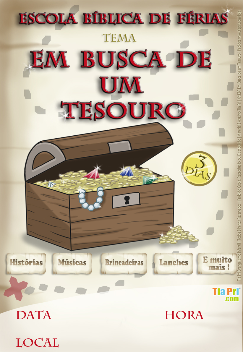 ESCOLA BÍBLICA DE FÉRIAS 2015