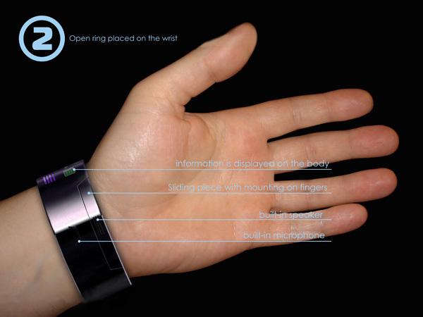 High-Tech Bracelet Concept Phone2