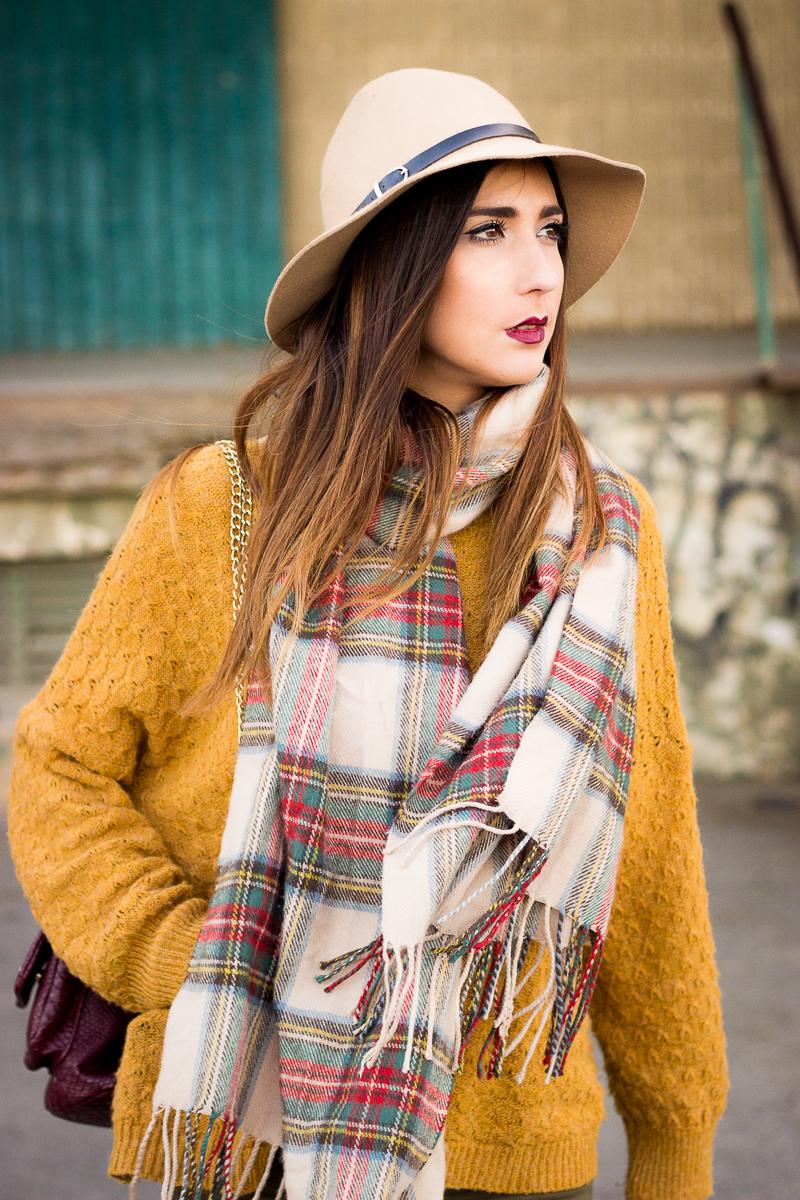 tartan scarff