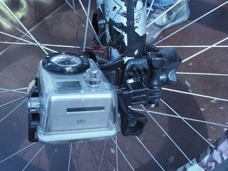 GoPro Mount on Bike Fork