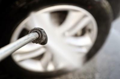 Reifen waschen