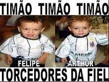 Felipe e Arthur são do Timão