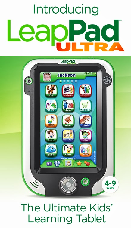 The Ultimate Kids' Learning Tablet - LeapPad Ultra #LeapPadPreOrder via artsyfartsymama.com