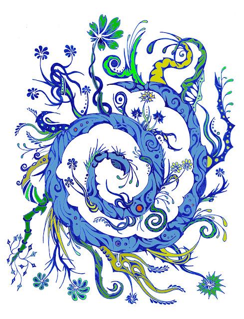 Dessins Fantastiques Fleurs+bleues+6+-+essai+3-1