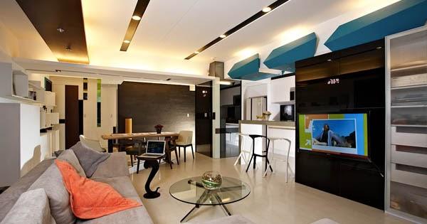 Dise o de interiores arquitectura moderno apartamento for Licenciatura en decoracion de interiores