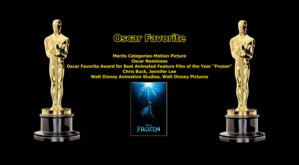oscar favorite best animated feature film award frozen