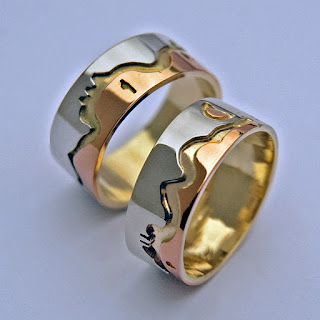 Wedding rings by Unieke Trouwringen design