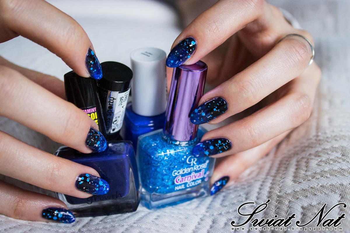 paznokcie mani manicure golder rose  essie