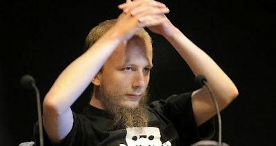 Gottfrid Svartholm, co fundador do site The Pirate Bay foi preso no Camboja