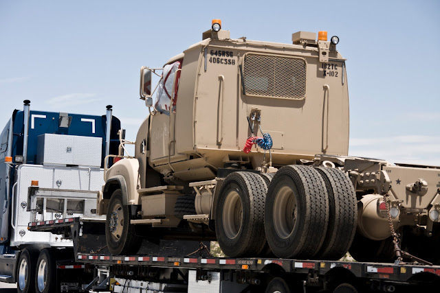 Military Vehicle To Vegas