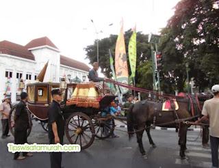 Inilah Kereta Kraton buat ROYAL WEDDING YOGYAKARTA