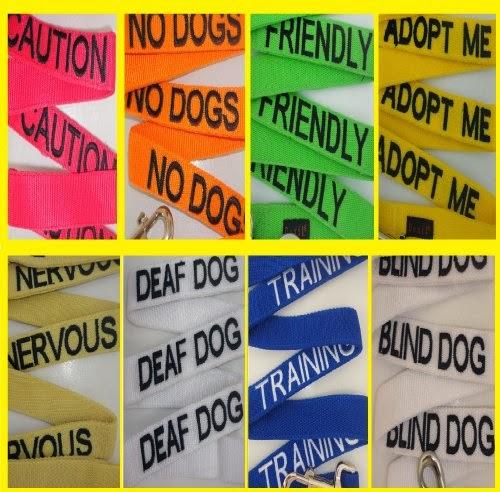 DINOS: le ruban jaune pour les chiens qui ont besoin d'espace  - Page 6 Caution+Leashes+2