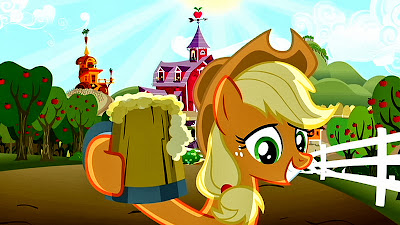 Applejack pony profile