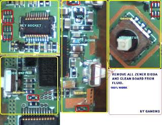 sgh e590 keypad problem