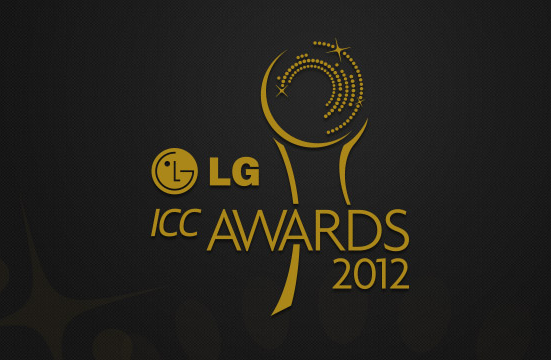 Six players nominated in three categories at LG ICC Awards 2012