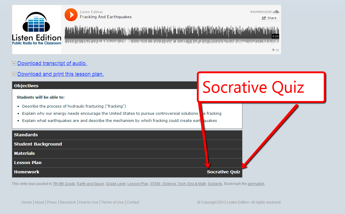 Listen Edition And Socrative Combine To Offer Audio Based Lessons The Blobz Guide Electric Circuits Science Pinterest Short Recordings An Make News Other Stories Accessible More Students Allows Your Multiple