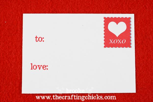 Sheek Shindigs DIY Felt Valentine Envelopes
