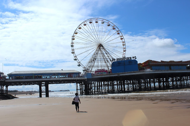 The Blackpool Central Pier