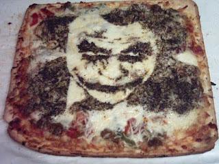 Batman+joker+food+art+pizza+portrait+edible+design