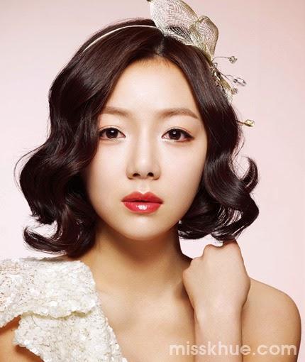 Quyến rũ với tóc cô dâu kiểu Hàn Quốc tuyệt đẹp