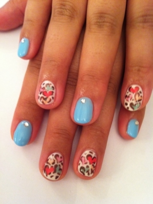 pretty nail art ideas summer 2012 if you love flashy - Nail Design Ideas 2012