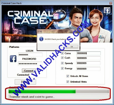 criminal case cheat hacks