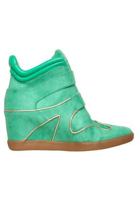 Tênis Sneakers feminino verde