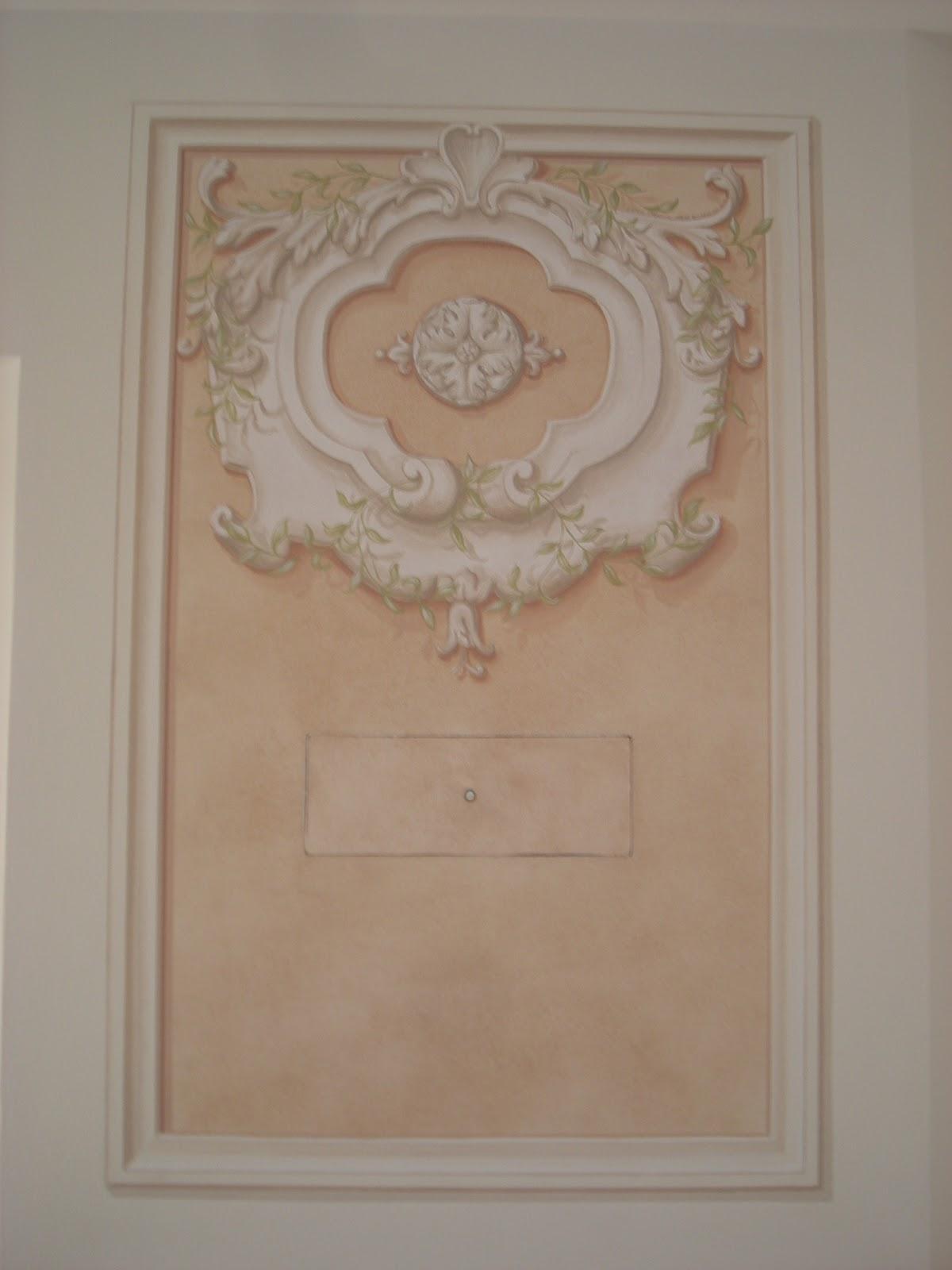 Artemusa decorazioni decorazione camino e soffitto - Decorazioni camino ...