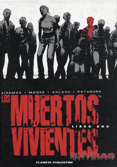 Portada Los Muertos ViVientes Integral tomo 1-extras