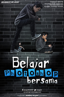 Belajar Photoshop Bersama AzisJS | Membuat Fokus warna dengan Photoshop