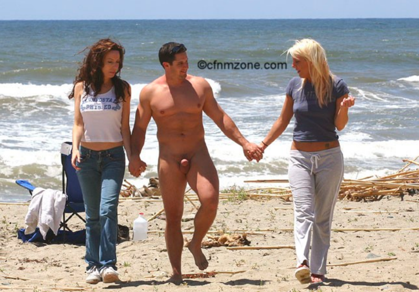 SUFFUSED NAKED: The Best of CFNM - Beach #2