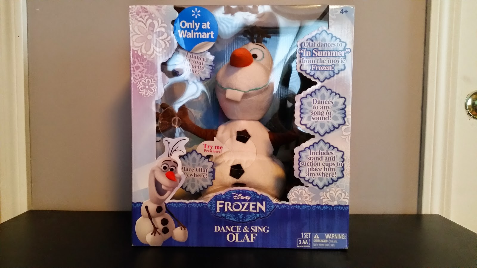 Frozen Dance & Sing Olaf at Walmart #ChosenByKids