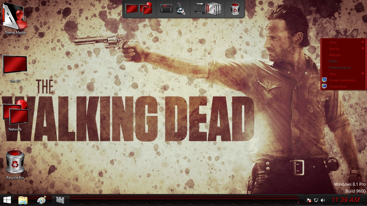 The Walking Dead Transformation Pack for Windows 7 / 8 / 8.1 / 10