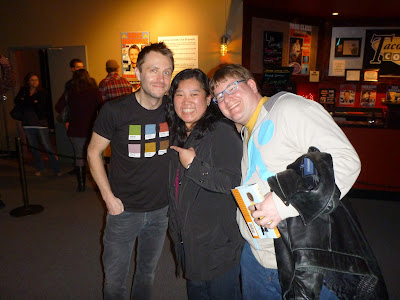 Chris Hardwick (Muppet Pantone Shirt), Shoebox Chef, and Cromely