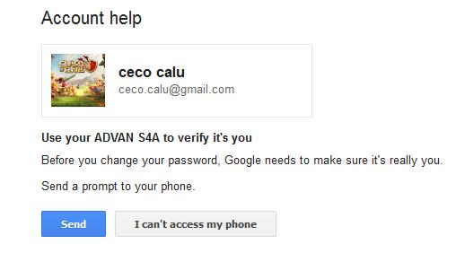 how to change coc password