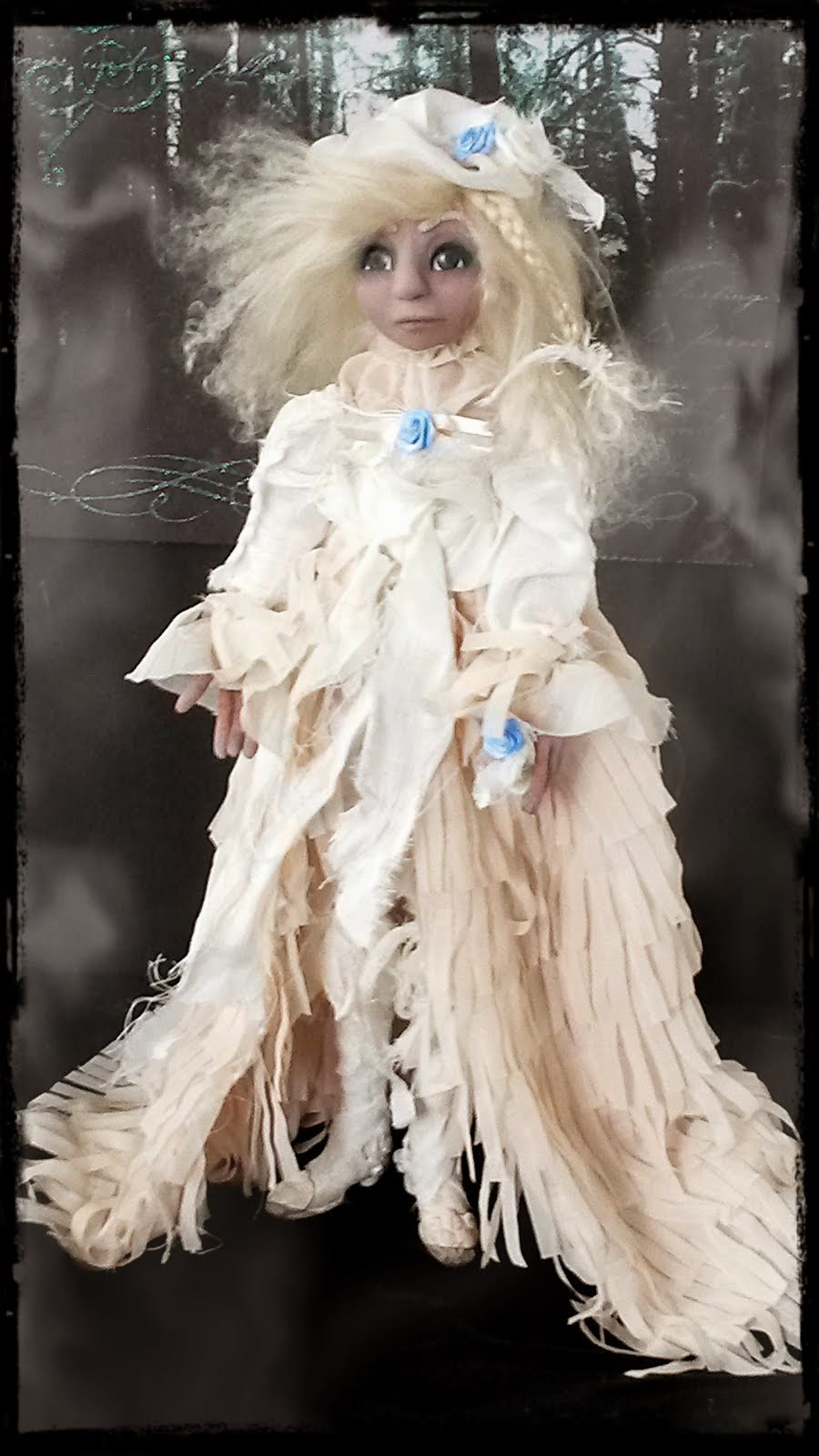 Ghostly Art Doll