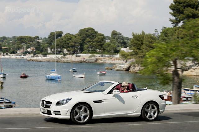 2012 Mercedes SLK 250 CDI White