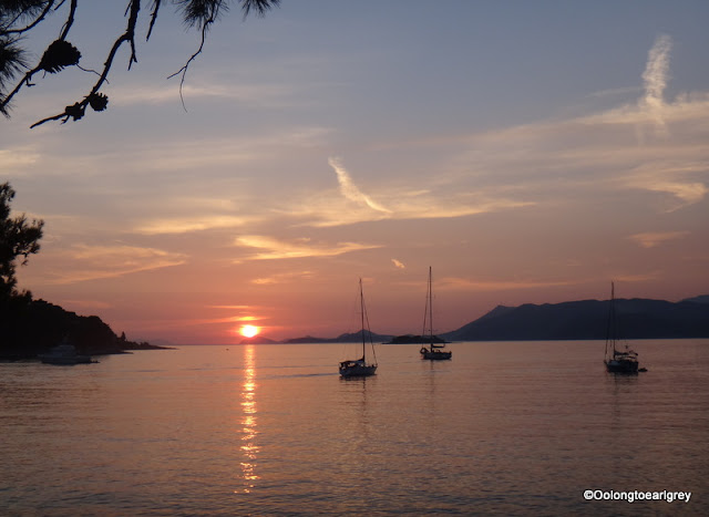 Sunset, Cavtat, Dubrovnik, Croatia