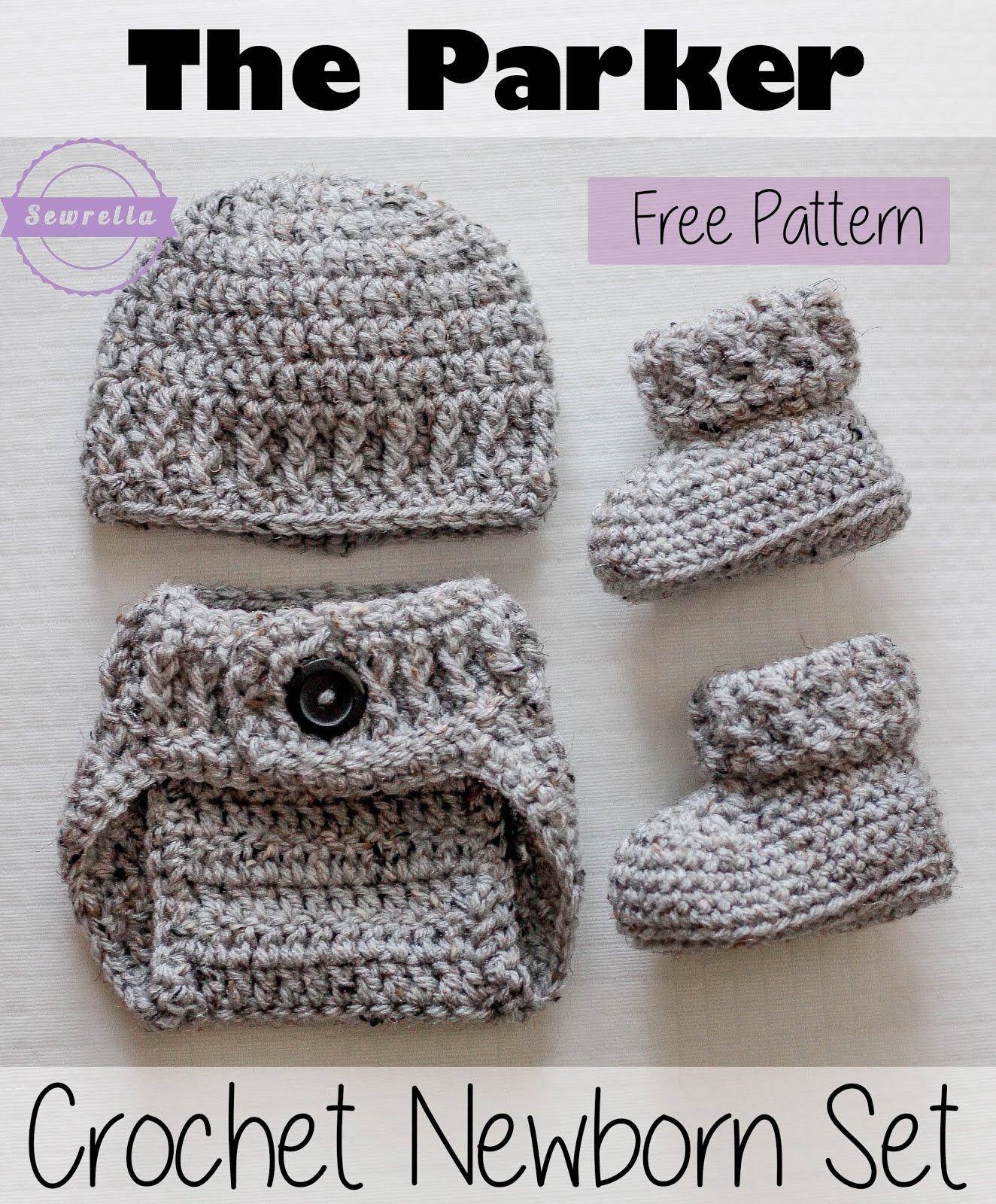The Parker Crochet Diaper Cover Sewrella