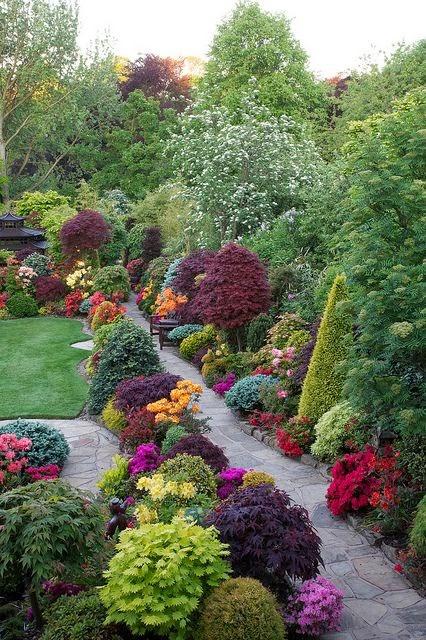 Ideas para Decorar el Jardín en Primavera