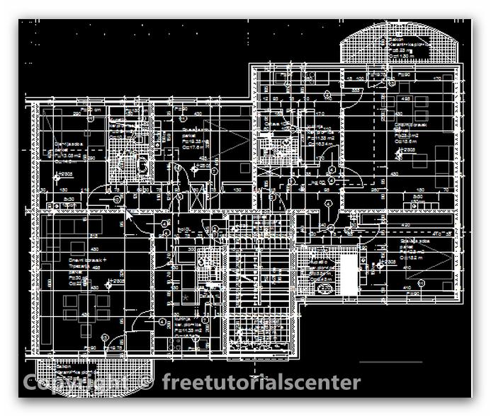 Architectural Floor Plan Details