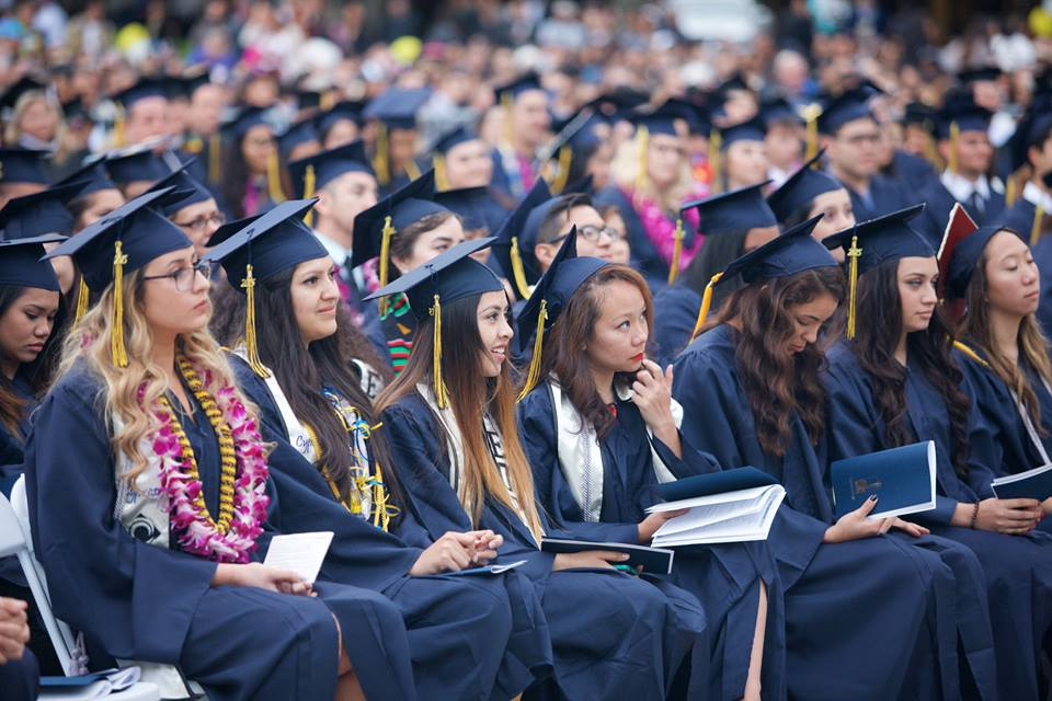 Commencement Ceremony At Cypress College In California
