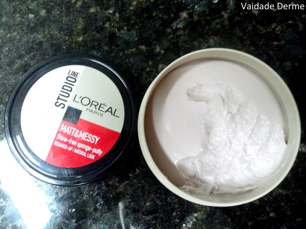 Studio Line 4 Matt & Messy Shine-Free Sponge Putty da L'Oreal Paris