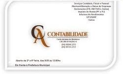 [INFORME PUBLICITÁRIO] [INFORME PUBLICITÁRIO] C&A CONTABILIDADE