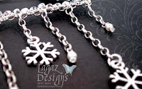 WInter's Charm detail by Lagaz Designs