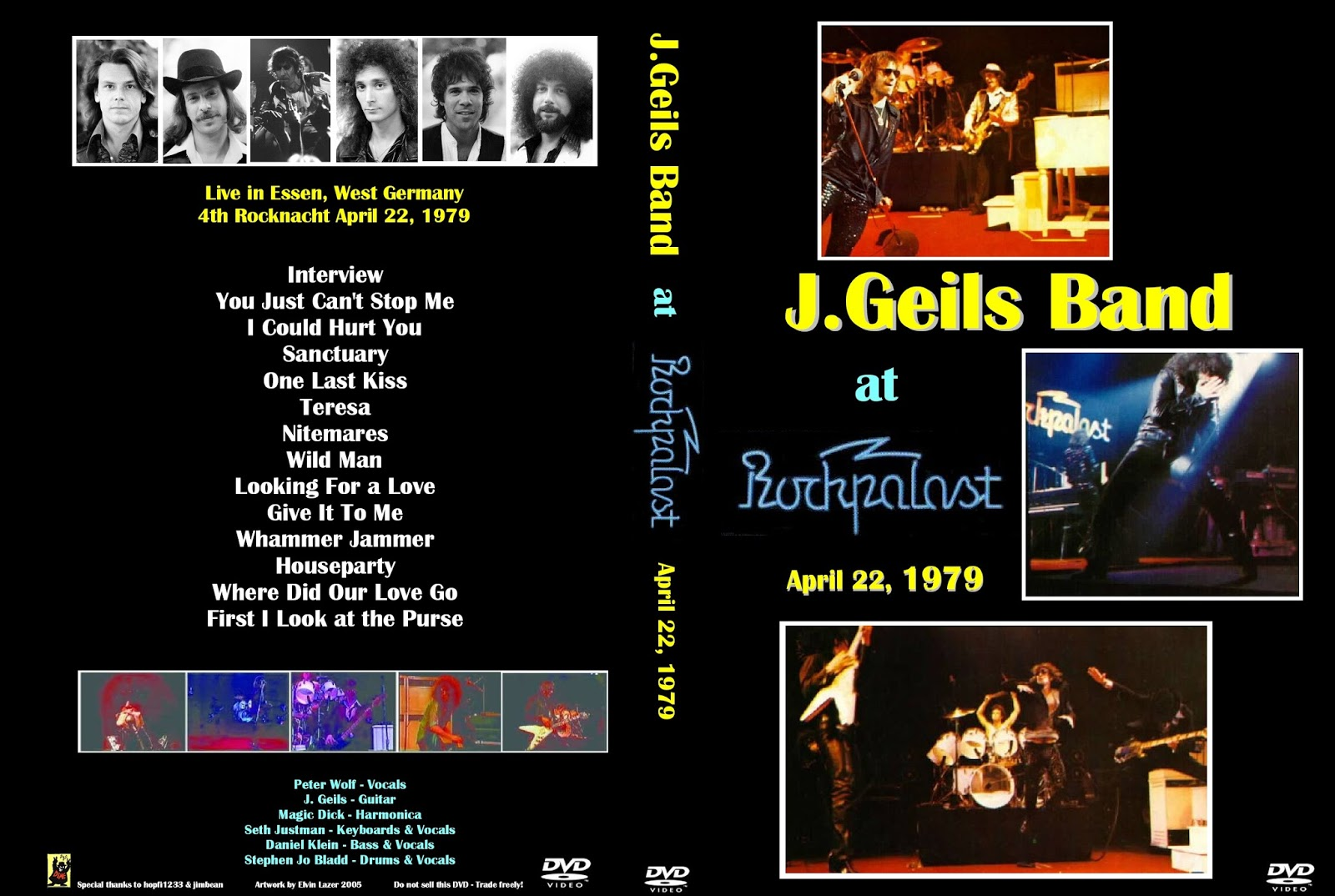 Geils band rockpalast 1979