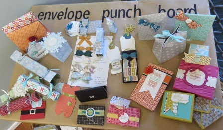 Envelope punch board studio and catalogue launch zena kennedy independent stampin up demonstrator