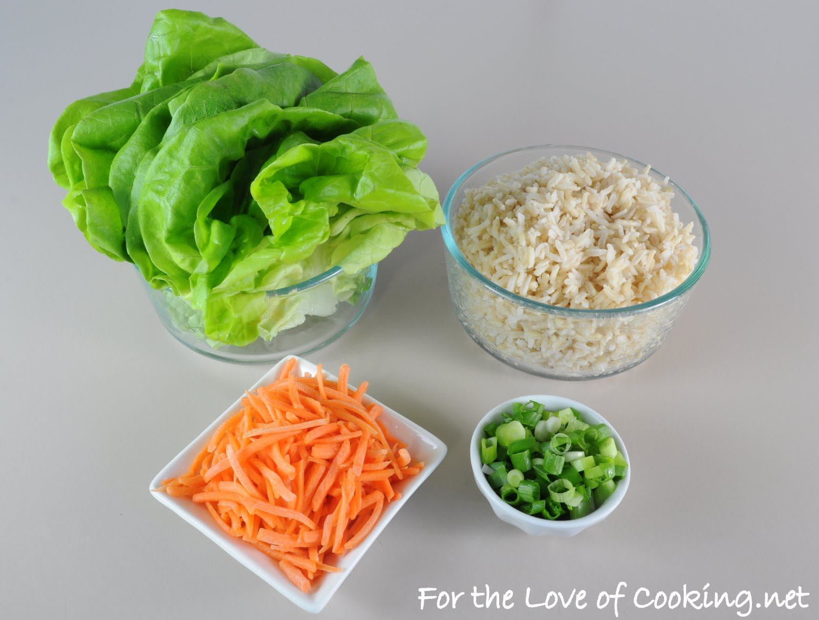 Sesame Beef Lettuce Wraps | For the Love of Cooking